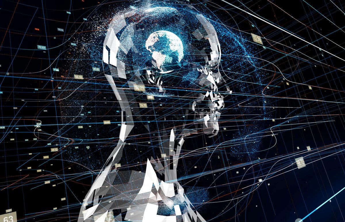 AI & MACHINE LEARNING - Magazine cover