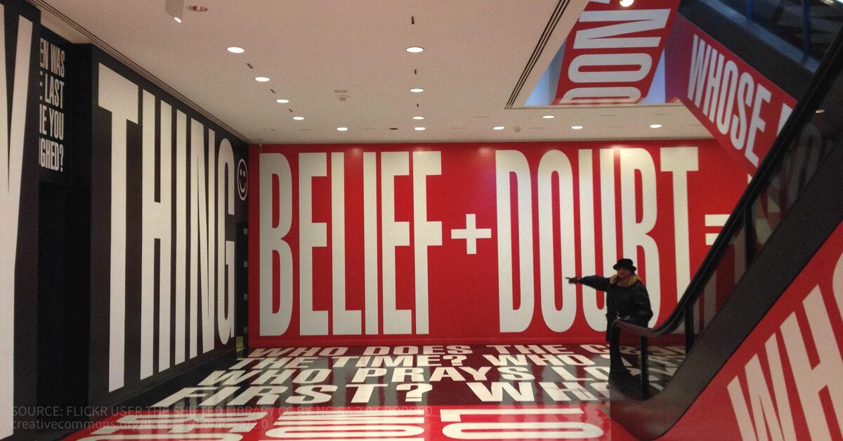 Belief and doubt essay