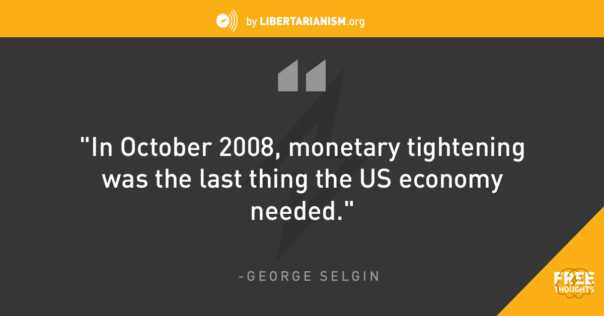 Feds Needs To Get Their Facts Straight >> Can We Reduce The Footprint Of The Fed With George Selgin